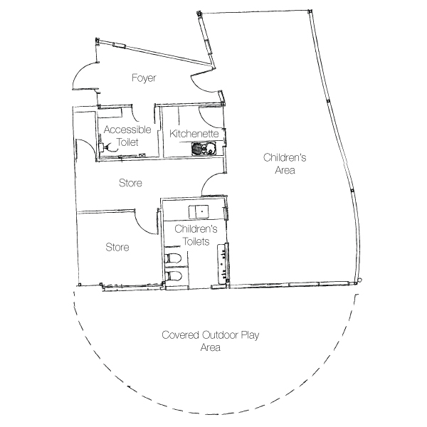Childrens Area Floor Plan