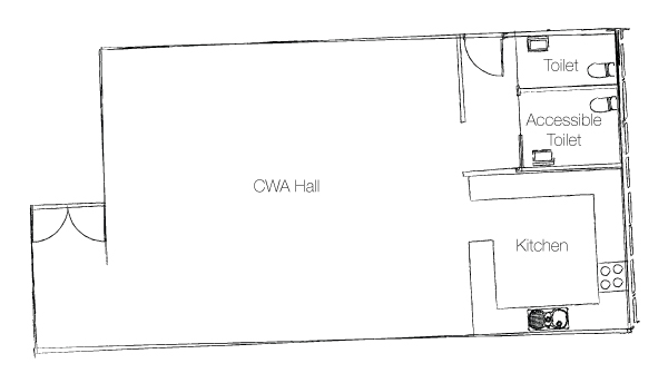 CWA Floor Plan