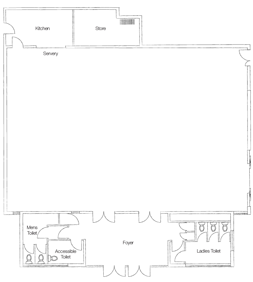 richmond room floor plan